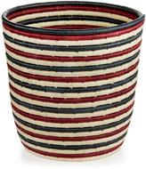 Rwanda Market Raffia and Sweet Grass Round Basket