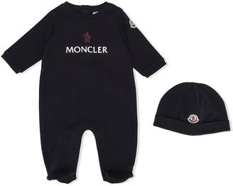 Moncler Enfant Logo Print Pyjamas