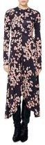 Isabel Marant Diana Cherry Blossom Jersey Midi Dress