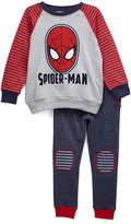 Children's Apparel Network Spider-Man Gray Pullover & Sweatpants Set - Toddler