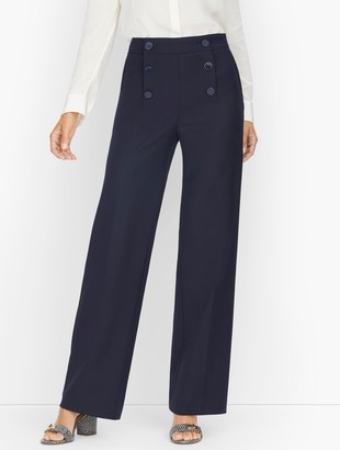 Talbots Wide Leg Sailor Pants