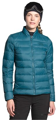 The North Face Lucia Hybrid Down Jacket (Mallard Blue) Women's Clothing