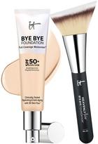It Cosmetics Bye Bye Foundation Moisturizer with Brush