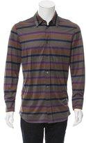Louis Vuitton Striped Button-Up Shirt