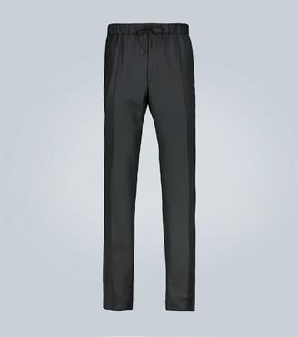 Fendi Pinstripe classic jogger pants