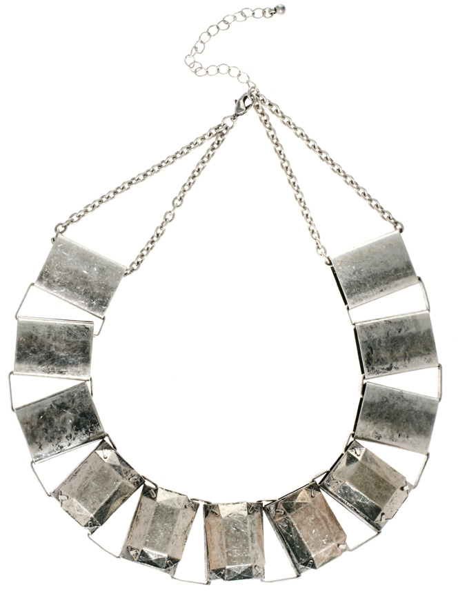 Asos Metallic Collar Necklace