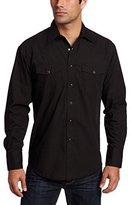 Wrangler Men's Sport Western Snap-Front Long-Sleeve Shirt