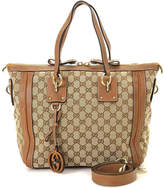 Gucci - Vintage Luxury Women's GG Canvas Two Way Tote