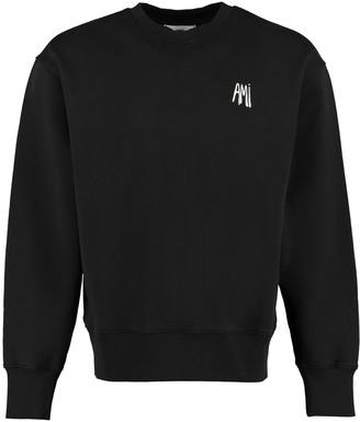 Ami Alexandre Mattiussi Cotton Crew-neck Sweatshirt