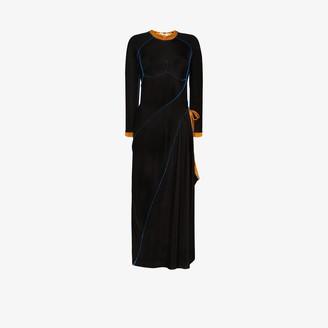 Y/Project Asymmetric Tie-Fastening Dress