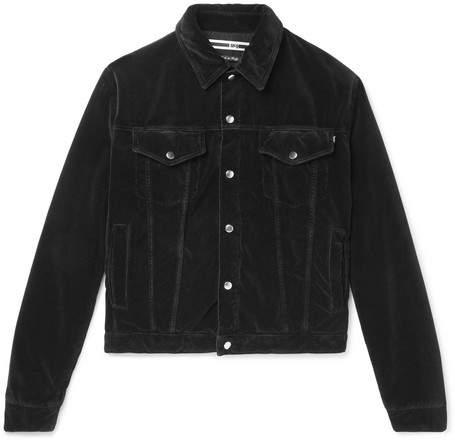 McQ Luca Cotton-Moleskin Jacket