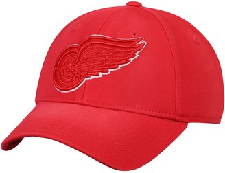 adidas Men's Red Detroit Red Wings Primary Tonal Flex Hat