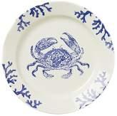 Vietri Costiera Blue Crab Round Platter