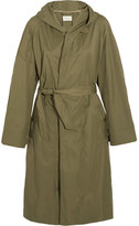 Etoile Isabel Marant Daker Shell Trench Coat - Army green