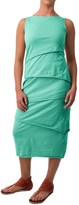Neon Buddha Shanghai Tiered Tank Dress - Stretch Cotton (For Women)
