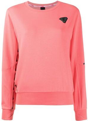 AAPE BY *A BATHING APE® Logo-Patch Cotton Sweatshirt