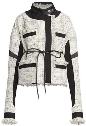 Sacai Summer Tweed Jacket