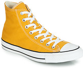 Converse CHUCK TAYLOR ALL STAR SEASONAL COLOR HI women's Shoes (High-top Trainers) in Yellow