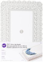 Wilton Rectangular Cake Boards - Scalloped - White