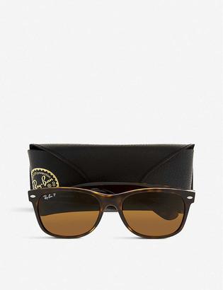 Ray-Ban RB2132 New Wayfarer tortoiseshell sunglasses