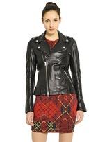 McQ by Alexander McQueen Goat Leather Biker Jacket
