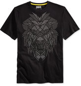 Sean John Men's Big & Tall Studded Roaring Graphic-Print T-Shirt