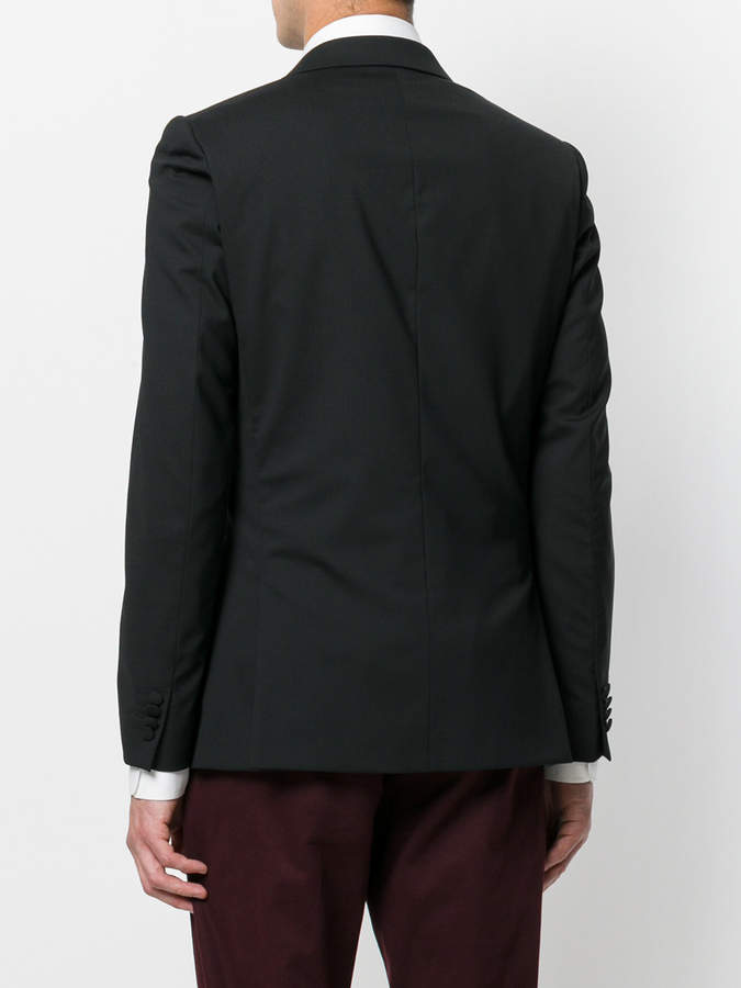 Paul Smith bead embroidered collar jacket