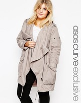 Asos Parka with Waterfall and Storm Flap