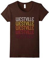 Women's Westville, IN Vintage Style Indiana T-shirt XL