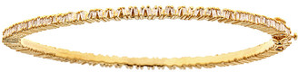 Forever Creations Usa Inc. Forever Creations 18K Gold Over Silver 1.63 Ct. Tw. Diamond Bangle