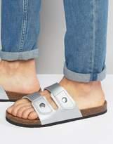 Brave Soul Double Strap Sandals