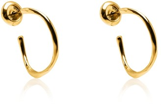 Tane Large Om Earrings