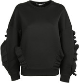 Stella McCartney Ruffled Detail Sweatshirt