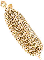 Giles & Brother Multi Strand Chain Link Bracelet