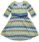 Iris & Ivy Girls 2-6x Crochet Fit-And-Flare Dress