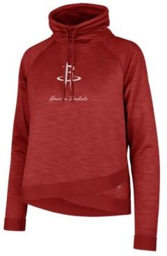 '47 Women's Houston Rockets Commuter Funnelneck Sweatshirt