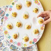 Sur La Table Floral Easter Egg Platter