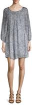 Joie Achroite Silk Printed Shift Dress