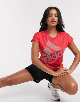 adidas Training t-shirt red
