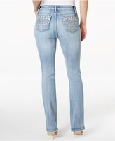 Earl Jeans Embellished Light Wash Bootcut Jeans