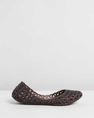 Melissa Campana Crochet Ballet Flats
