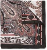 Etro - Printed Silk-twill Pocket Square
