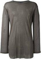 Ann Demeulemeester Blanche - long sleeve T-shirt - men - Lyocell - XS