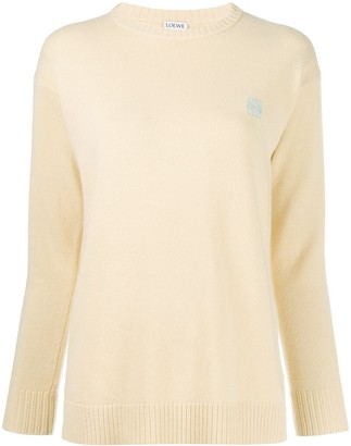 Loewe embroidered logo sweater