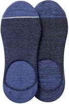 Joe Fresh Women's 2 Pack Essential Sport Socks, JF Midnight Blue (Size 9-11)