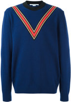 Stella McCartney v-intarsia jumper - men - Polypropylene/Cashmere/Wool - M