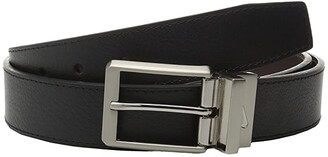 Nike Core Reversible Belt (Black/Brown) Men's Belts