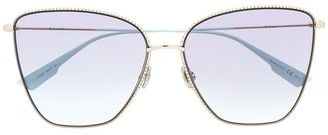 Christian Dior Society1 butterlfy-frame sunglasses