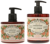 Panier des Sens Absolutes Rose Geranium Liquid Marseille Soap & Hand and Body Lotion