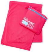 Flight 001 Pink Emergency Travel Blanket